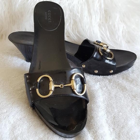 f4c560171809 Gucci Shoes - Authentic Gucci Classic Slides Black Sz 8.5